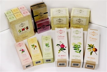 SET OF AURIEL COLLECTION BEAUTY PRODUCTS