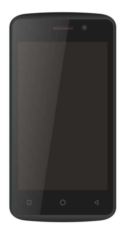 Plus 8 Touch 4 (3G, 4-inch, 8GB, Quad-Core) Mobile Phone (Black)