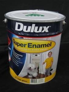 Dulux 10L Paint, Super Enamel High Gloss