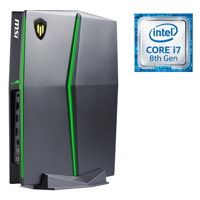 MSI Vortex W25 8SL-089AU Workstation Desktop PC, Black