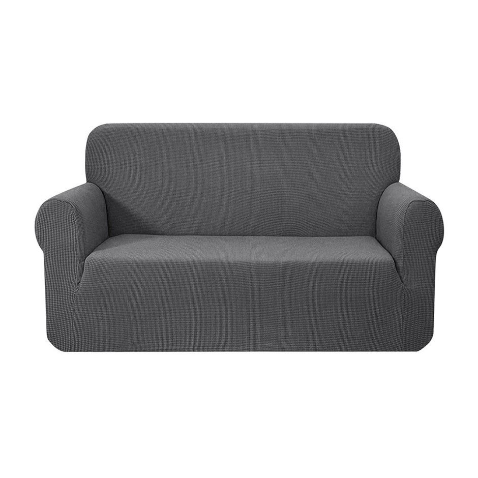 Artiss High Stretch Sofa Cover Couch Protector Slipcovers 2 Seater Grey