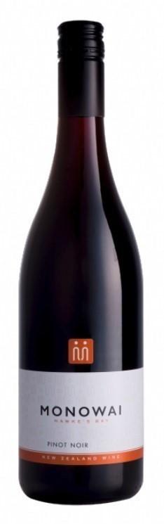 Monowai Winemaker`s Selection Pinot Noir 2020 (12 x 750mL) Hawke`s Bay, NZ