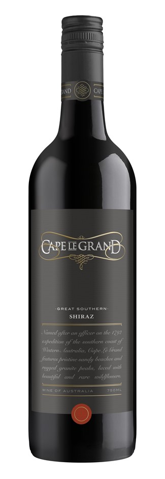 Cape Le Grand Shiraz 2015 (12 x 750mL) Great Southern, WA