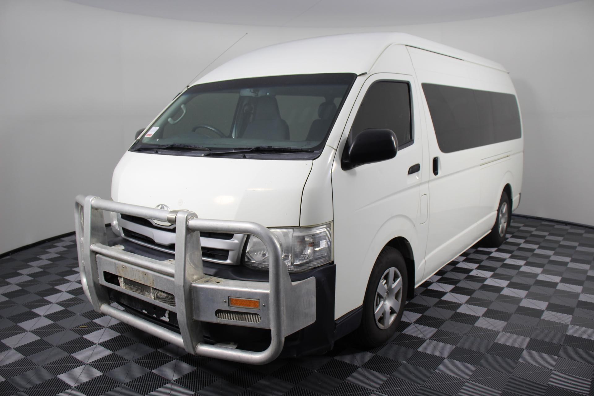 2013 Toyota Hiace Commuter Turbo Diesel Auto 12 Seat Bus