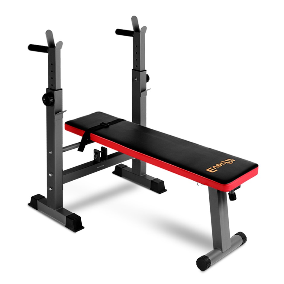 Everfit Multi-Station Weight Bench Press Equipment Fitness Home Gym Red