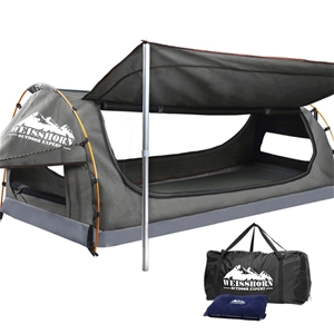 WEISSHORN King Single Camping Swags Canv