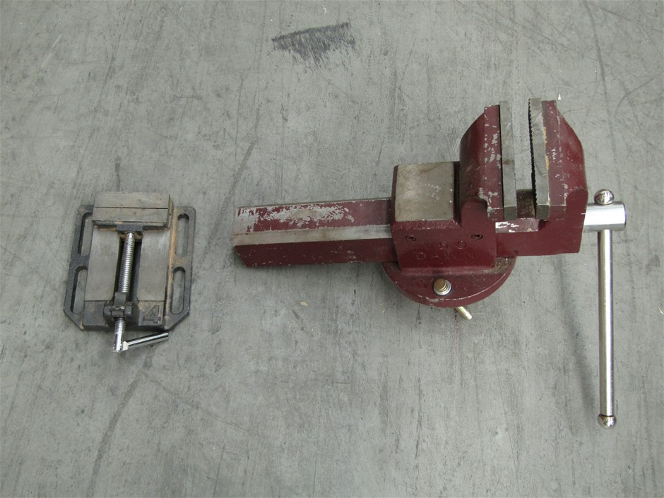 Assorted Bench Vice