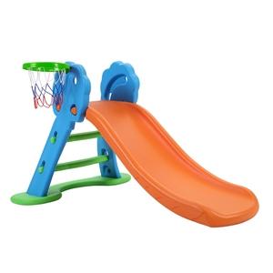 Keezi Kids Slide with Basketball Hoop Pl