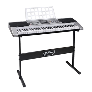 Alpha 61 Keys Electronic Keyboard