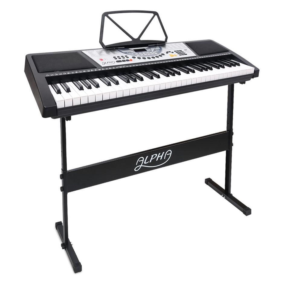Alpha 61 Key LED Electronic Keyboard