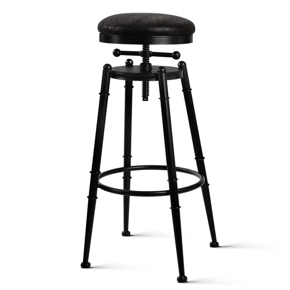 Artiss Industrial Vintage Bar Stool Retro Barstool Dining Chair