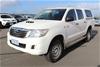 2014 Toyota Hilux 4x4 SR KUN26R Turbo Diesel Automatic Dual Cab