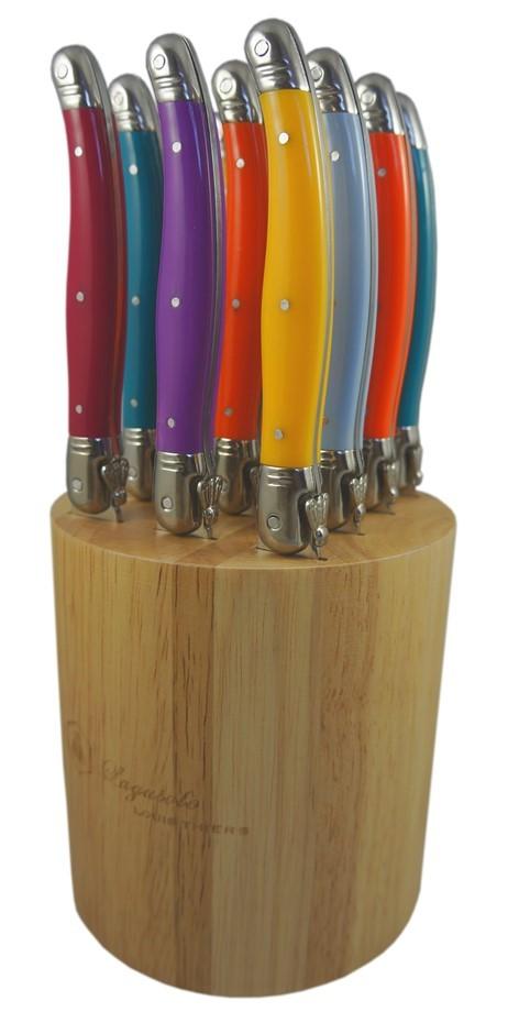Laguiole by Louis Thiers 12-piece Steak Knife Set - Multi-colour