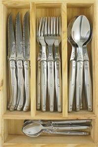 Laguiole LT 24-piece cutlery set Straigh