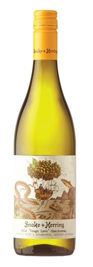 Snake & Herring Tough Love Chardonnay 2017 (12 x 750mL), Margaret River, WA