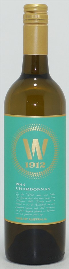 Wickham Hill `W1912` Chardonnay 2014 (6 x 750mL), NSW.
