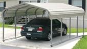 Unreserved - Unused Steel Carport Sheds