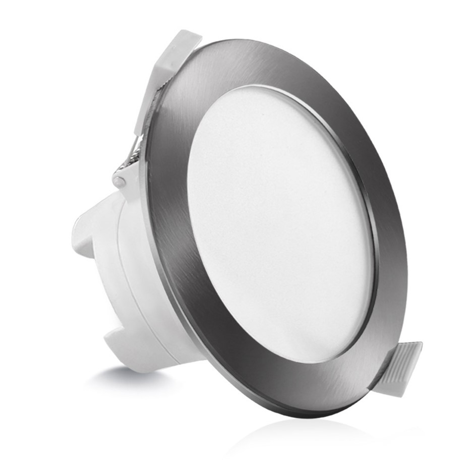 10 x LUMEY LED Downlight Kit Dimmable Daylight Satin 10W 90MM