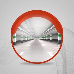 60cm Round Convex Mirror Blind Spot Safe