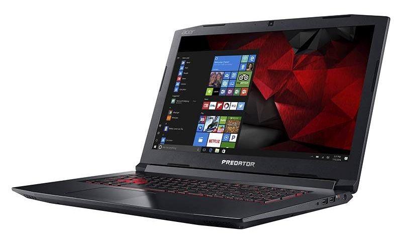Acer Predator Helios 300 PH315 15.6/i7-8750H/16GB/256 SSD +2TB HDD/GTX 1060