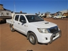 2010 Toyota Hilux SR RWD Manual - 5 Speed Dual Cab Ute