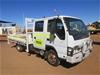 2007 Isuzu NPR 4 x 2 Crew Cab Tray Body Truck