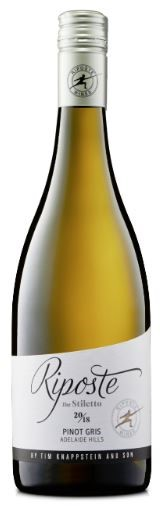 Riposte The Stiletto Pinot Gris 2018 (12 x 750mL), Adelaide Hills, SA.