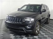 Unreserved 2013 Jeep Grand Cherokee Limited WK T/D Wagon
