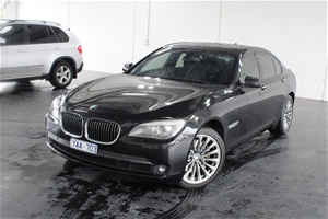 2009 BMW 7 40i F01 Automatic Sedan