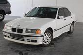 Unreserved  1996 BMW 3 18i E36 Manual
