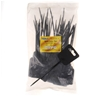 4 x Packs of 100 Mounted Head Cable Ties, 165mm x 4.8mm, Black. Buyers Note