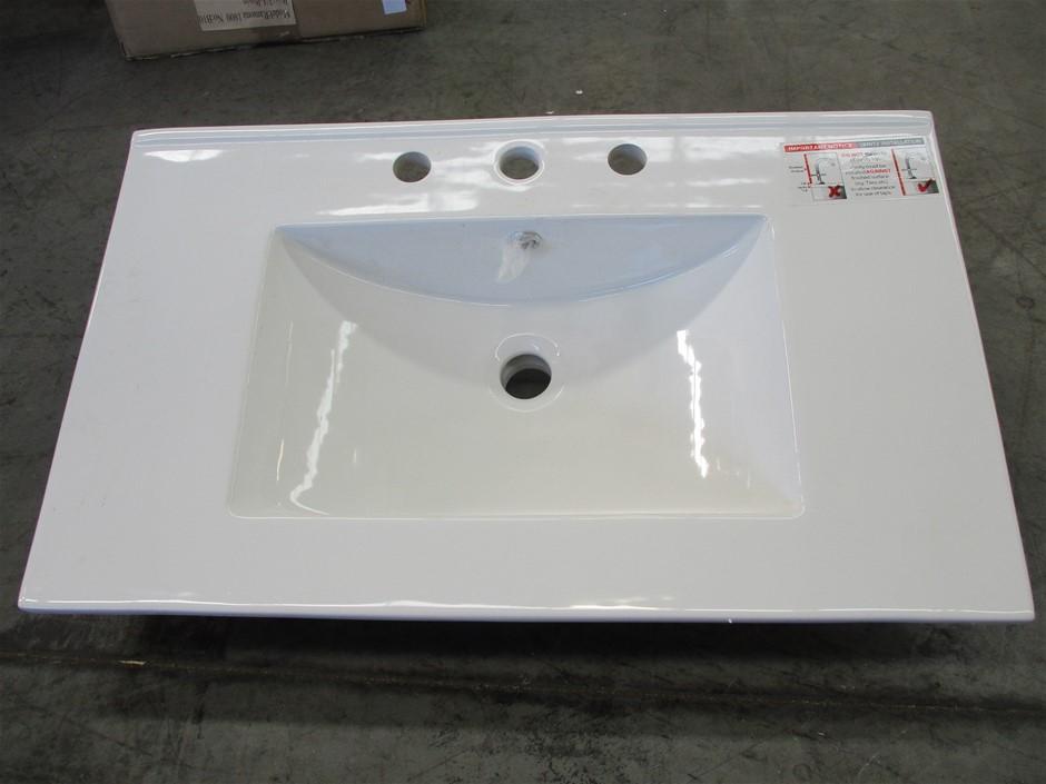 AKT753 Ceramic Vanity Top