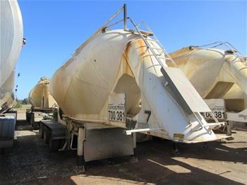 2x Dry Podwer Bulk Haulage Trailers