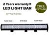 """23"""" 144W Cree LED Light Bar Spot Floodlight 4x4 O/Road Work Ute Atv 12v 24v"""