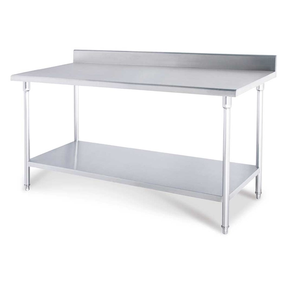 Commercial Catering Kitchen Stainless Steel Prep Work Bench 100*70*85cm