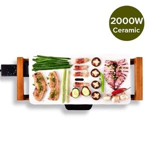 Electric Ceramic BBQ Grill Non-stick Sur