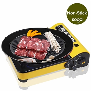 Portable Butane Stove Gas Burner Yellow