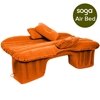Inflatable Car Mattress Portable Travel Camping Sleeping Bed Orange