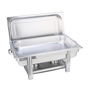 SOGA Single Tray Stainless Steel Chafing
