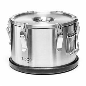 SOGA 304 30*23cm Stainless Steel Insulat