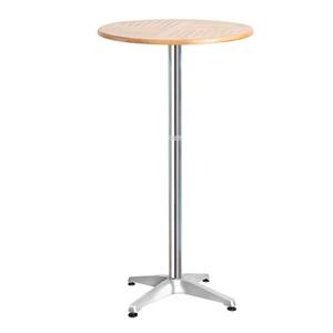 Gardeon Outdoor Bar Table Aluminium Adju