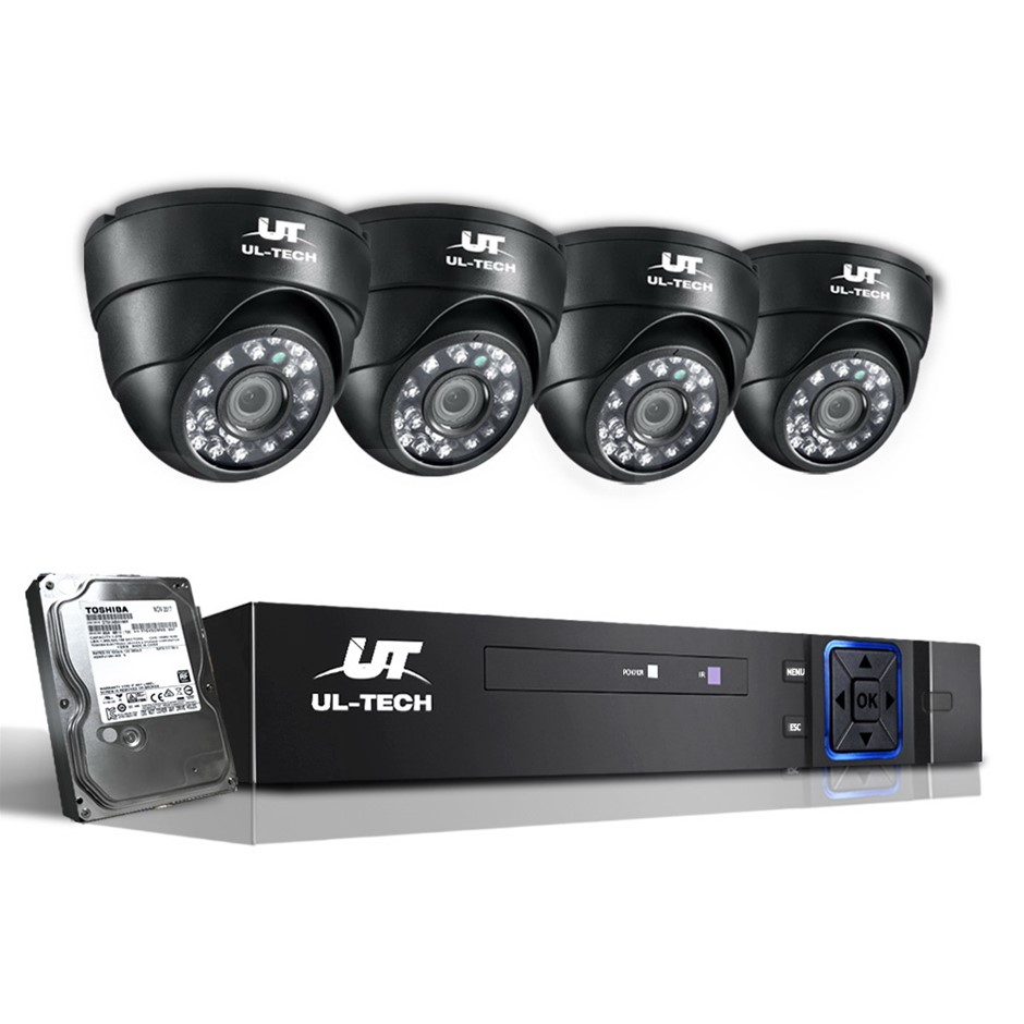 1080P CCTV Security Camera HDMI 8CH DVR Video Home Outdoor IP System