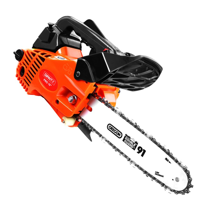 GIANTZ 25cc Commercial Petrol Chainsaw 10Inch Oregon Bar E-Start Tree