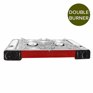 Portable Double Gas Burner Butane Outdoo