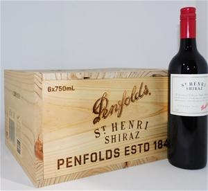 Penfolds `St Henri` Shiraz 2010 (6 x 750