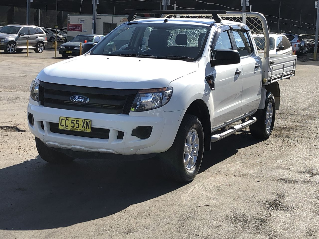 2015 Ford Ranger XL 4X2 Hi-Rider PX Turbo Diesel Automatic Crew Cab Chassis