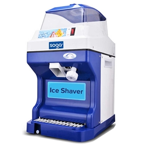 SOGA Ice Shaver Commercial Electric Stai
