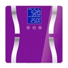 SOGA Digital Body Fat Scale Bathroom Scales LCD Electronic Purple