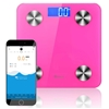 SOGA Wireless Bluetooth Digital Body Fat Scale Health Analyser Weight Pink