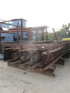 Heavy Metal Fabricated Base